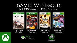 Xbox   July 2020 Games With Gold