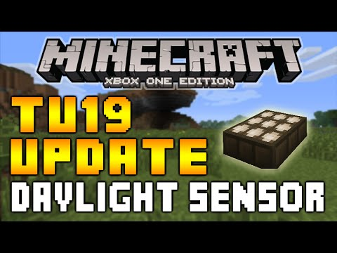 how to make daylight sensors work in minecraft
