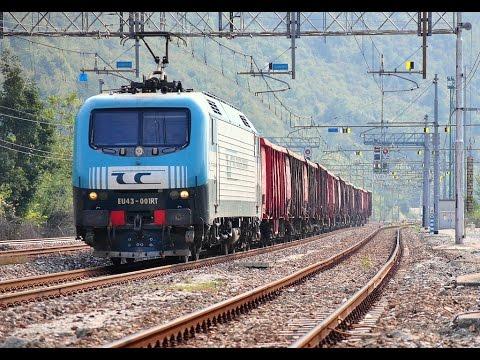 Trenulete electrice HO - Roco electric locomotive EU43 RTC Brenner