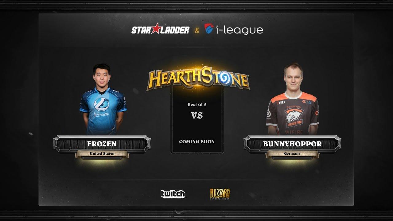 [RU] Fr0zen vs BunnyHoppor | SL i-League Hearthstone StarSeries Season 3 (13.05.2017)