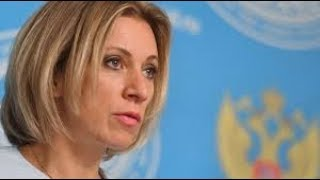 Maria Zakharova holds weekly briefing in Moscow