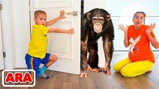 فلاد ونيكيتا يريدان حقا أن يكون عندهم حيوانات أليفة