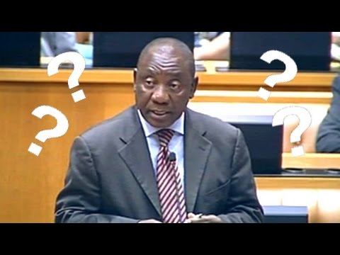 Ramaphosa answers parliamentary questions in National Assembly