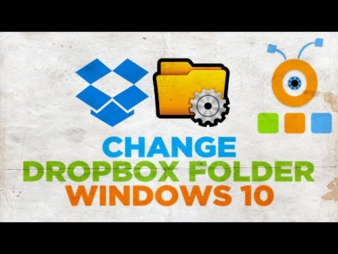 How to Change Dropbox Folder in Windows 10