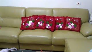 Video Cara merajut sarung bantal sofa bunga download MP3, 3GP, MP4, WEBM, AVI, FLV November 2019
