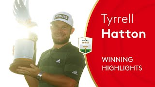Tyrrell Hatton beats Rory McIlroy to win 2021 Abu Dhabi HSBC Championship | Final Round Highlights