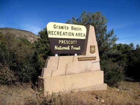 Prescott Hiking Trails Granite Basin 349 350 351 Loop Youtube