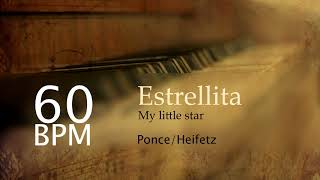 Estrellita - My little star piano acompaniment