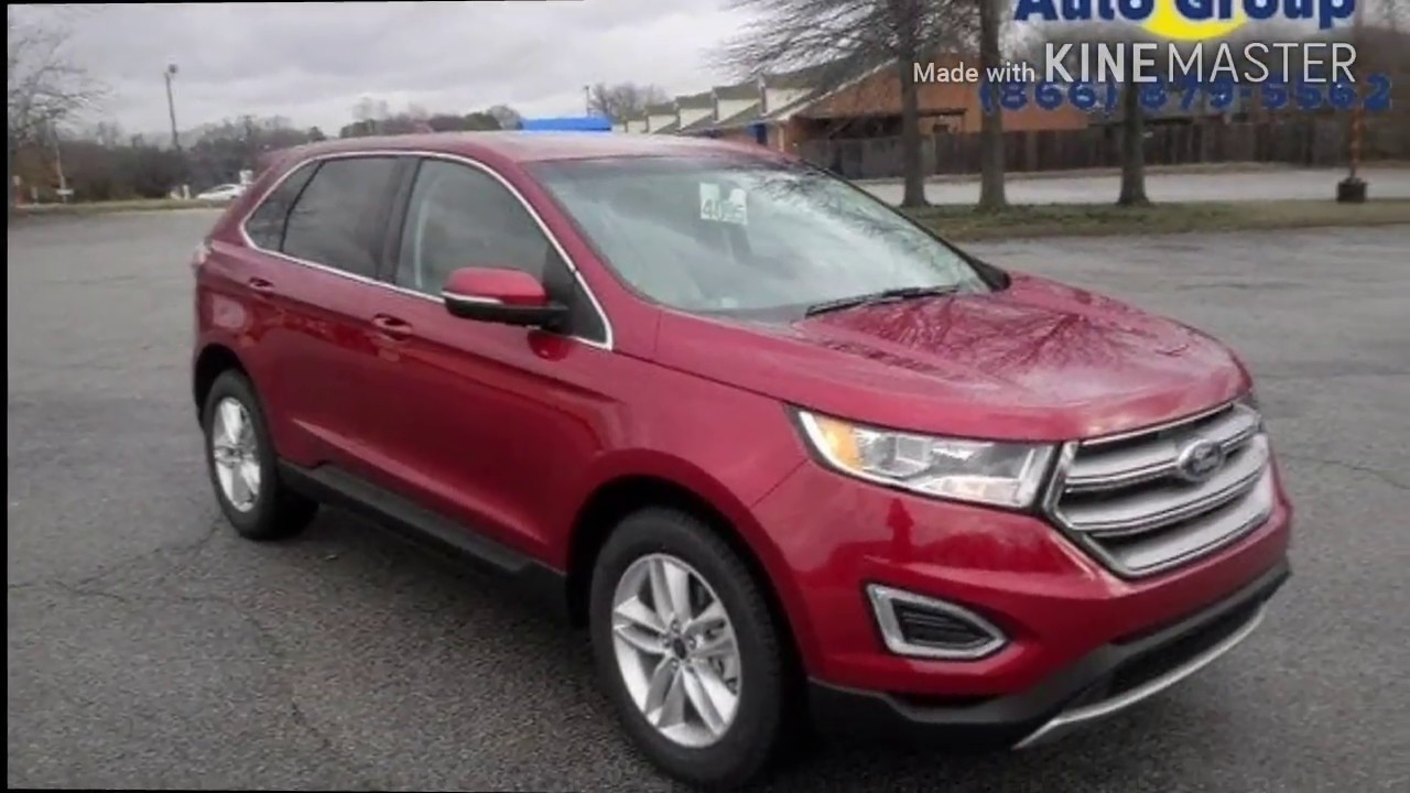 Ford Edge Jw Sewell Of Golden Circle Ford In Jackson Tn