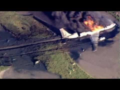 Boeing 707 Military Tanker Jet Plane Crashes at Naval Air Base in California
