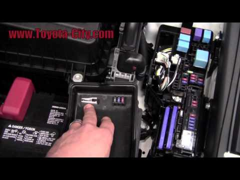 1990 toyota camry fuse diagram 2011 toyota camry fuses under the hood how to by toyota #6
