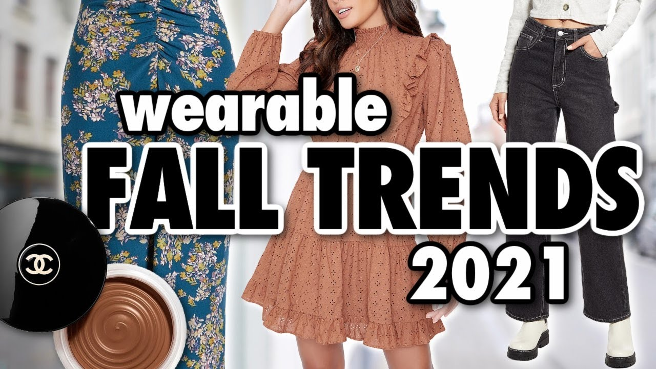 Download 10 Fall FASHION TRENDS Worth Trying in 2021!
