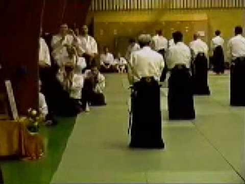 Shoji Nishio Aikido Toho Iai 12 Shiho Shomen Shihonage