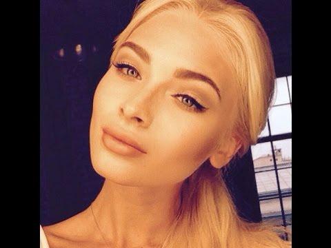 Макияж для блондинок в стиле Алены Шишковой