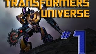 Transformers Universe Gameplay - Part 1 - Rough Start to Online Play