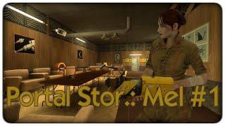Portal stories: Mel | Aperture, 1952 - ep. 01 - let's play Portal 2 [ITA]