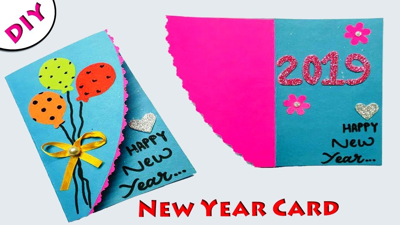 Greeting Cards Latest Design Handmade | DIY Happy New Year ...