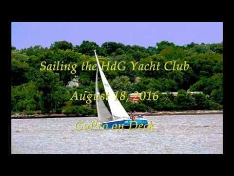 2016 08 18 Nova Laser 28 Sail with GoPro