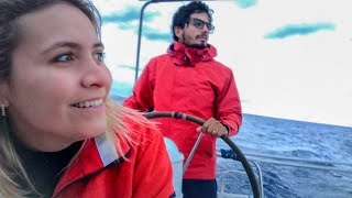 88 | Velejando com 30 nós / Testando nova Ancora Rocna ( Páros - Grécia ) - Sailing Around the World