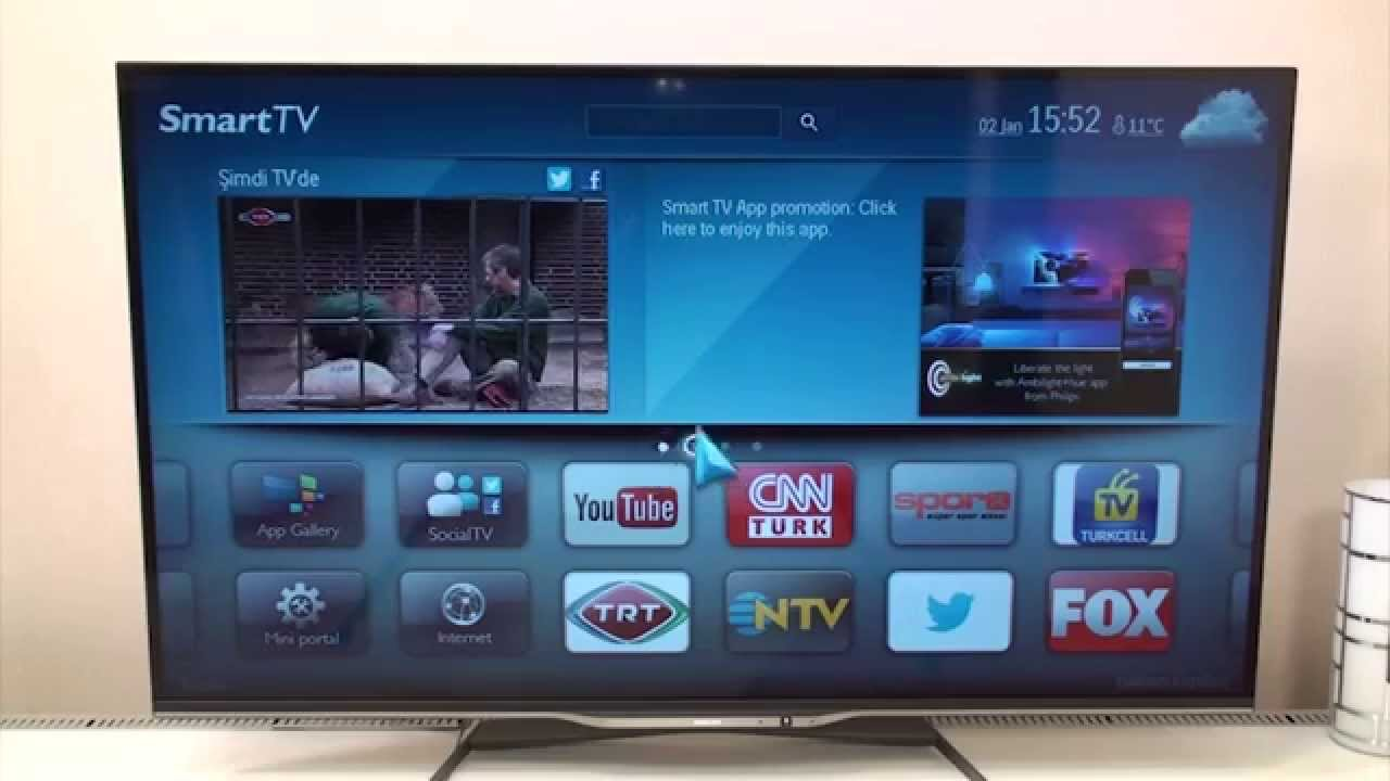 Philips Smart TV Özellikleri (DonanımHaber) - YouTube