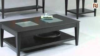 Mocchiato Rectangle Cocktail Table By Bassett Mirror T1216-100