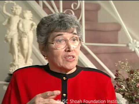Holocaust Survivor Itka Zygmuntowicz Testimony Part 1