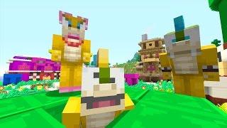 Minecraft Wii U - Mario Bros World - Hide and Seek [8]