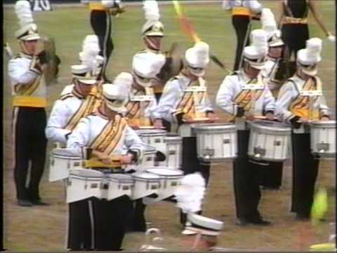 H.M. King Band - Drumline Clip from State 1995