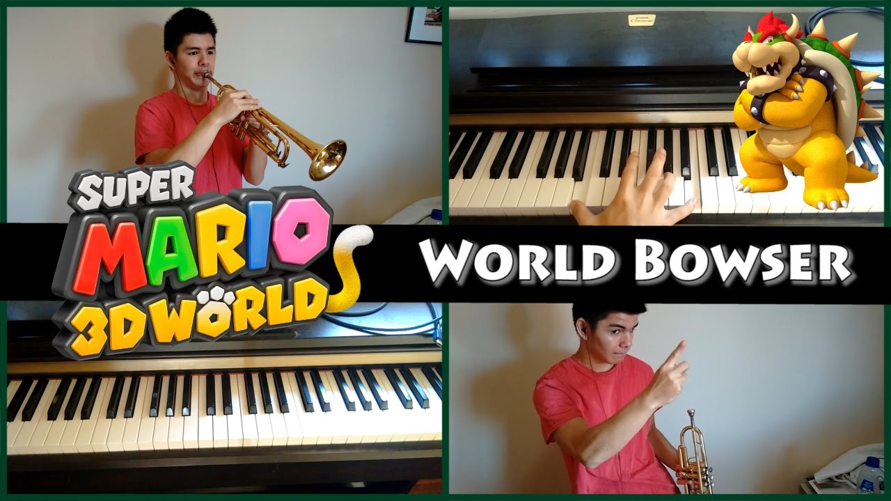 Super Mario 3D World - World Bowser (Trumpet and synth cover)