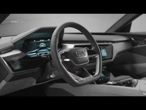 Audi e tron quattro concept   Footage