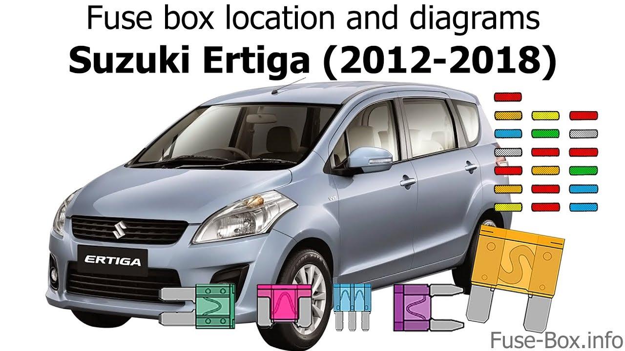 medium resolution of suzuki sx4 fuse box wiring diagram m6fuse box location and diagrams suzuki ertiga 2012 2018
