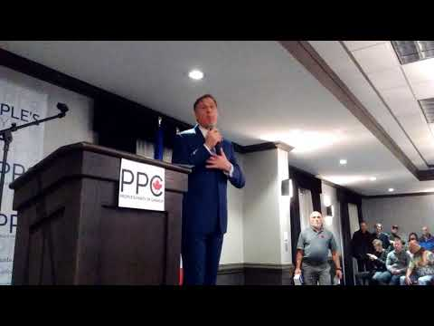 Maxime Bernier: I Am Canadians First and I Do Not Pander (Calgary Rally)