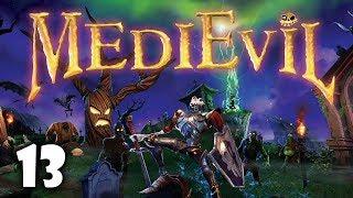 Kryształowa Jaskinia i walka ze smokiem #13 MediEvil PS4   PL   Gameplay   Zagrajmy w