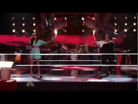 The Voice - 01x03 - The Battles - Tarralyn vs. Frenchie (Single Ladies - Put A Ring On It)
