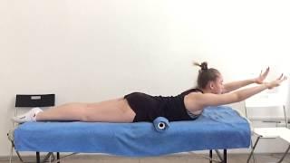 5 упражнений для осанки. Кругловогнутая спина
