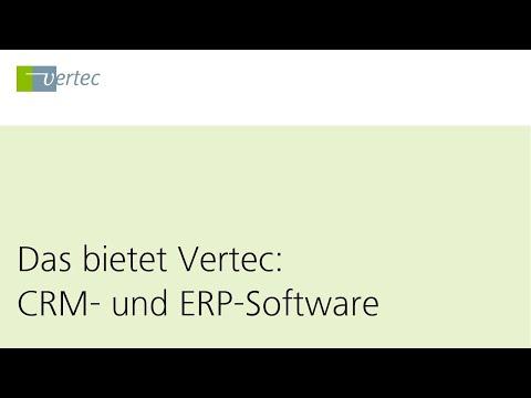 CRM und ERP Software für Dienstleister | Vertec