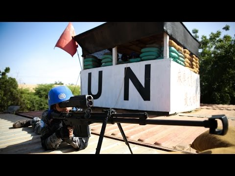 Chinese peacekeeping force in Mali held live-fire exercise