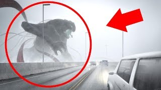5 Gigantic Mysterious Creatures Caught on Tape