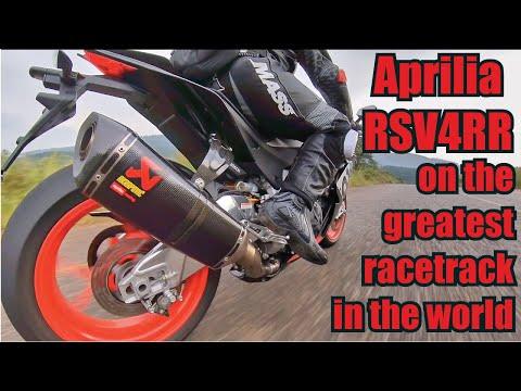 Aprilia RSV4RR on