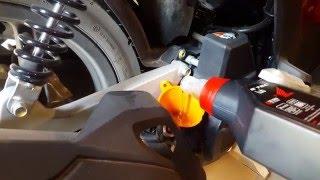 Comment faire une Vidange scooter 125 cm3