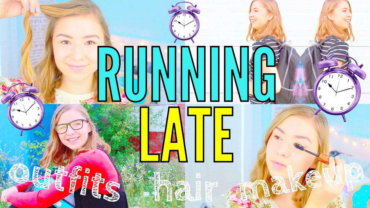 running late school outfit