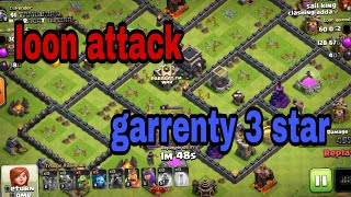 Loon attack gerenty 3 star loon 🎈🎈🎈Clash of clans: A Clashiversary Tale (Clash-A-Rama!) cocClash