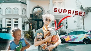 Surprising MINI JAKE PAUL with a HAPPY MEAL!!