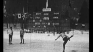 1924 Winter Olympics - Figure Skating Sonja Henie and Gillis Grafstrom
