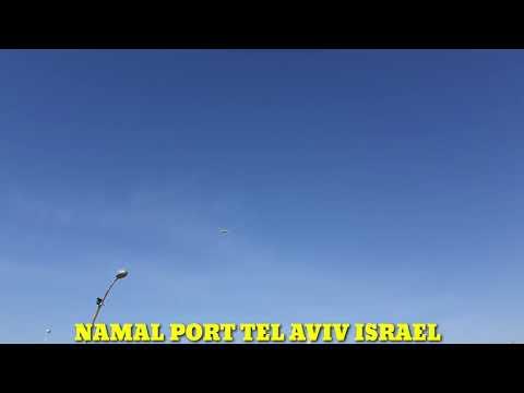 NAMAL PORT TEL AVIV(RELAXING THE BEAUTIFUL WEATHER)