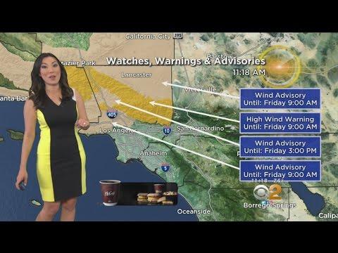 Amber Lee's Weather Forecast (April 27)