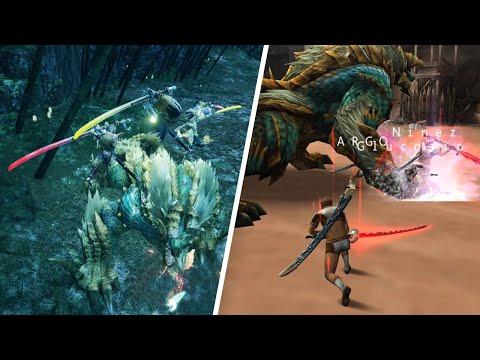 New VS Old Monster Hunter Multiplayer Experience |