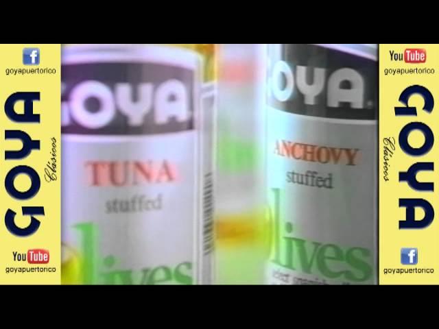 Clásico Aceitunas Goya - Rellenas (90's)