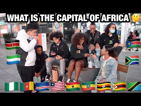 ASKING AMERICANS THE CAPITAL OF AFRICA/does Africa has a cap