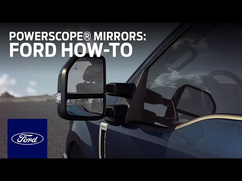 PowerScope® Power Telescoping Mirrors | Ford How-To | Ford